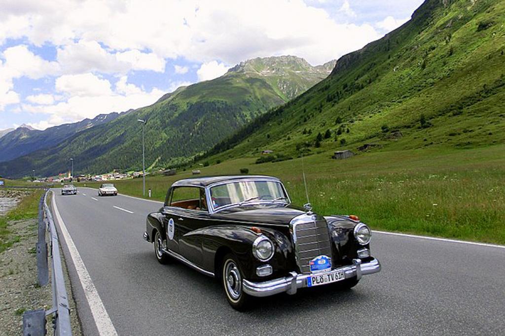 Auch dabei: Mercedes Adenauer