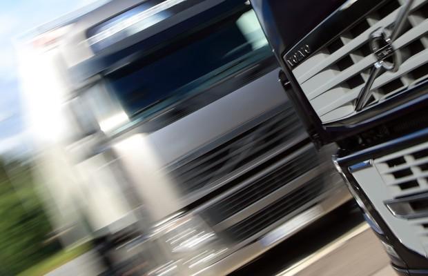 Auslieferungen von Volvo Trucks weltweit um vier Prozent gesunken.