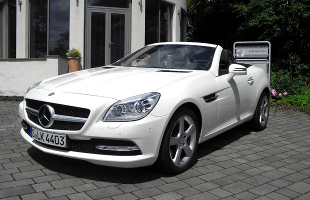 Auto im Alltag: Mercedes SLK