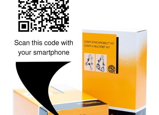 Automechanika: ContiTech stellt mobile Informationsangebote vor