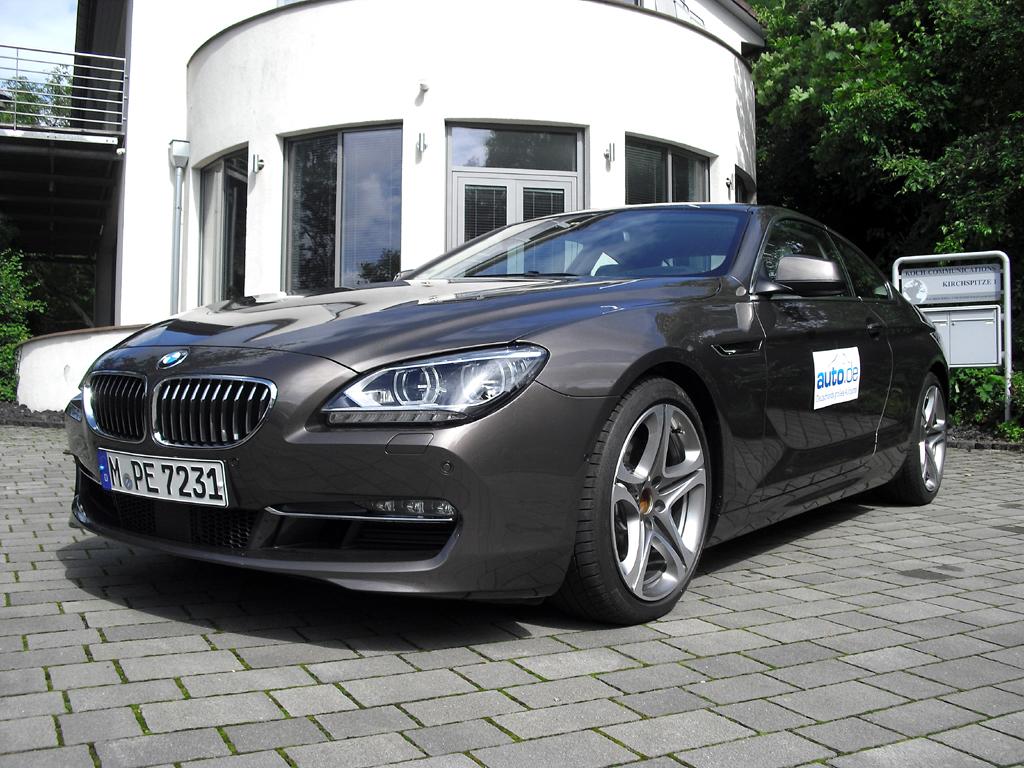 BMW 6er, hier als Diesel-Coupé 640d mit 230/313 kW/PS. Foto: Koch