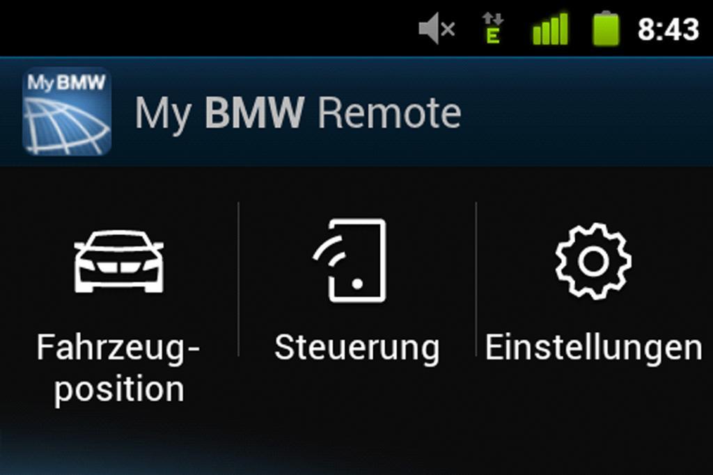 BMW App - Handy-Fernsteuerung fürs Auto