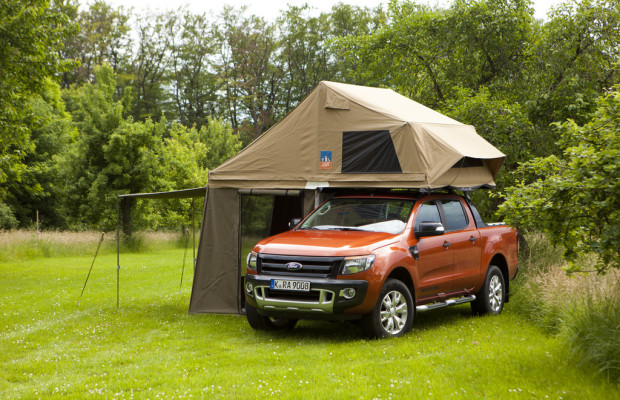 Caravan-Salon 2012: 3Dog Camping Top Dog für Ford Ranger Wildtrak