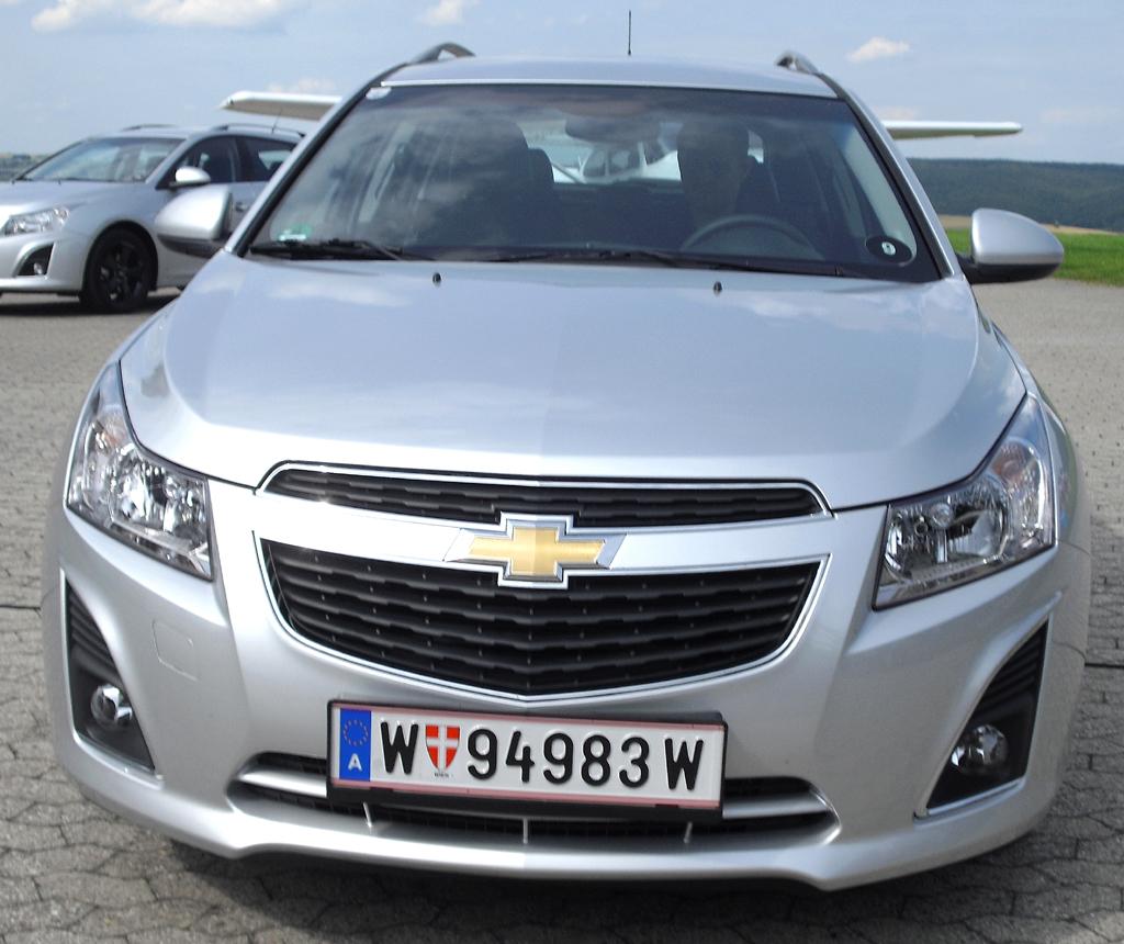 Chevrolet Cruze Kombi: Blick auf die Frontpartie.