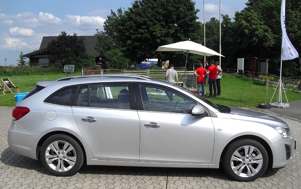 Chevrolet Cruze Kombi: Und so sieht der kompakte Station Wagon von der Seite.