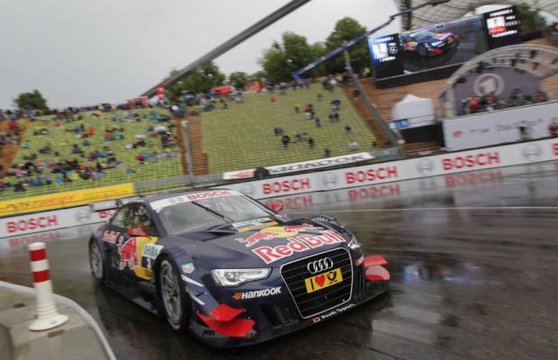 DTM 2012 Audi-Pilot Ekström triumphiert in München