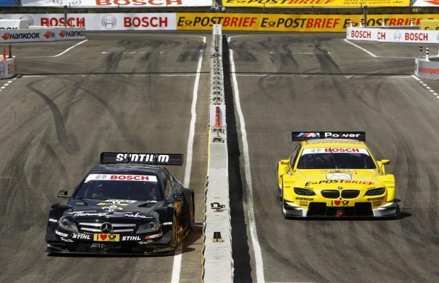DTM Show-Event: Am Sonnabend  gewinnen Schumacher und Green