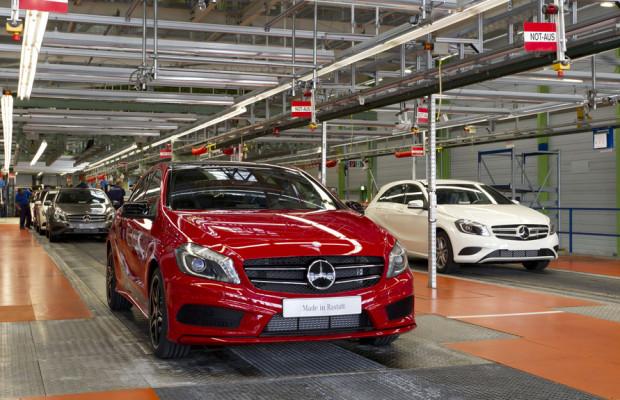 Daimler erweitert Produktionskapazitäten für die Mercedes-Benz A-Klasse