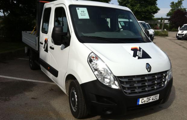 Den Deutschen Nutzfahrzeugpreis 2012 holte der Renault Master