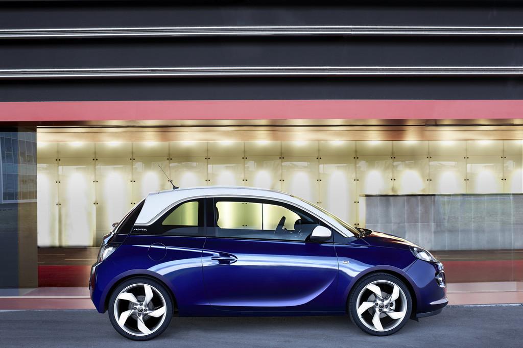 Der Opel Adam soll die Stadt erobern