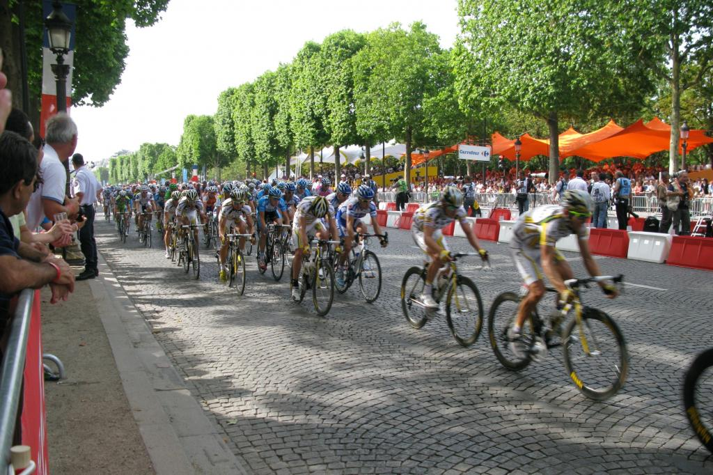 Die Tour de France ist lebende Legende