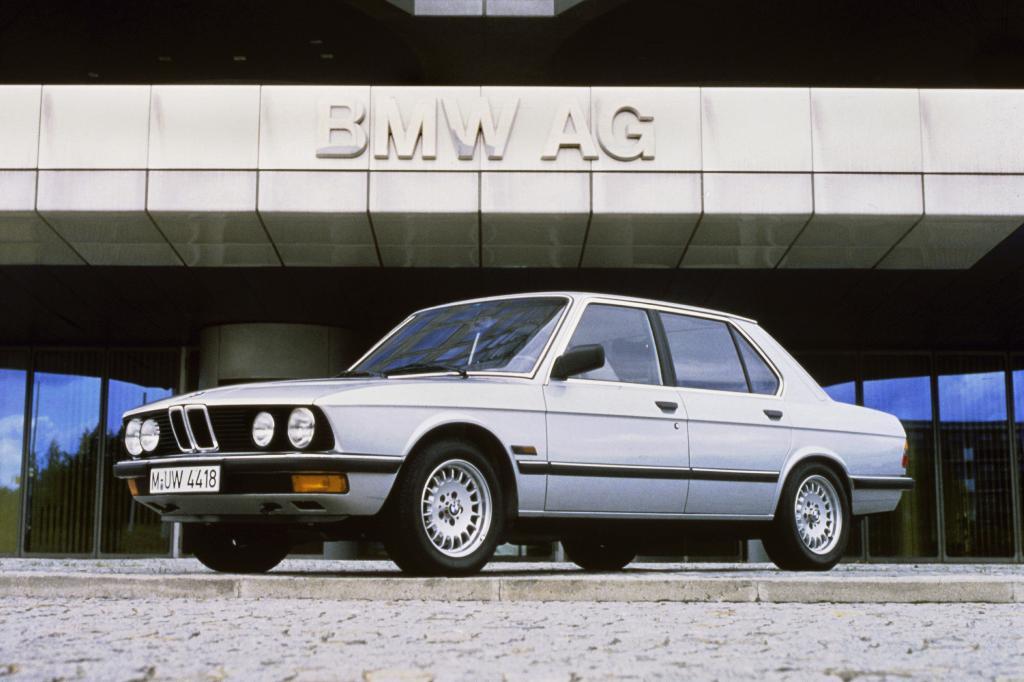 Die erste Ziffer bei BMW steht für die Fahrzeugklasse