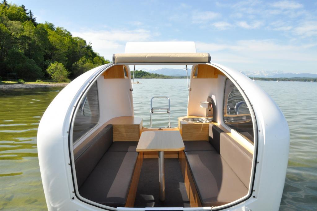 Ein Wohnwagen geht baden: Der Amphibien-Caravan