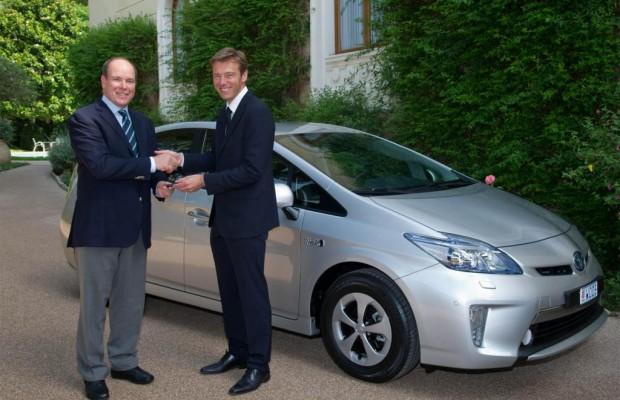 Erster Prius Plug-in-Hybrid in Europa für Fürst Albert