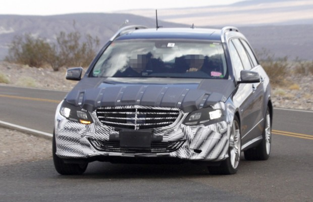 Erwischt: Mercedes-Benz E-Klasse Facelift