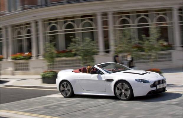 Extrem elegant - Aston Martin V12 Vantage Roadster