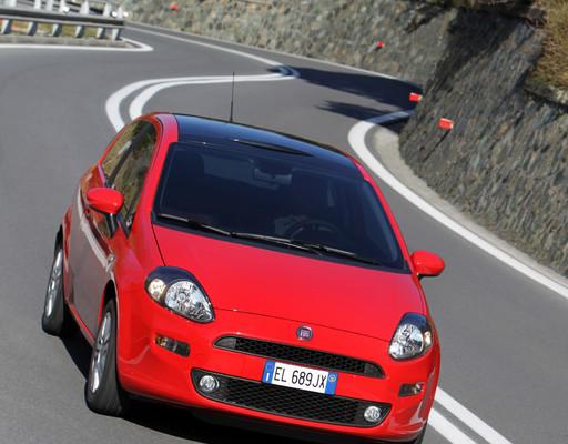Fiat Punto More mit Alufelgen und Navigationssystem ohne Mehrpreis