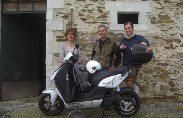 Govecs-Elektroroller legte 4219 Kilometer zurück