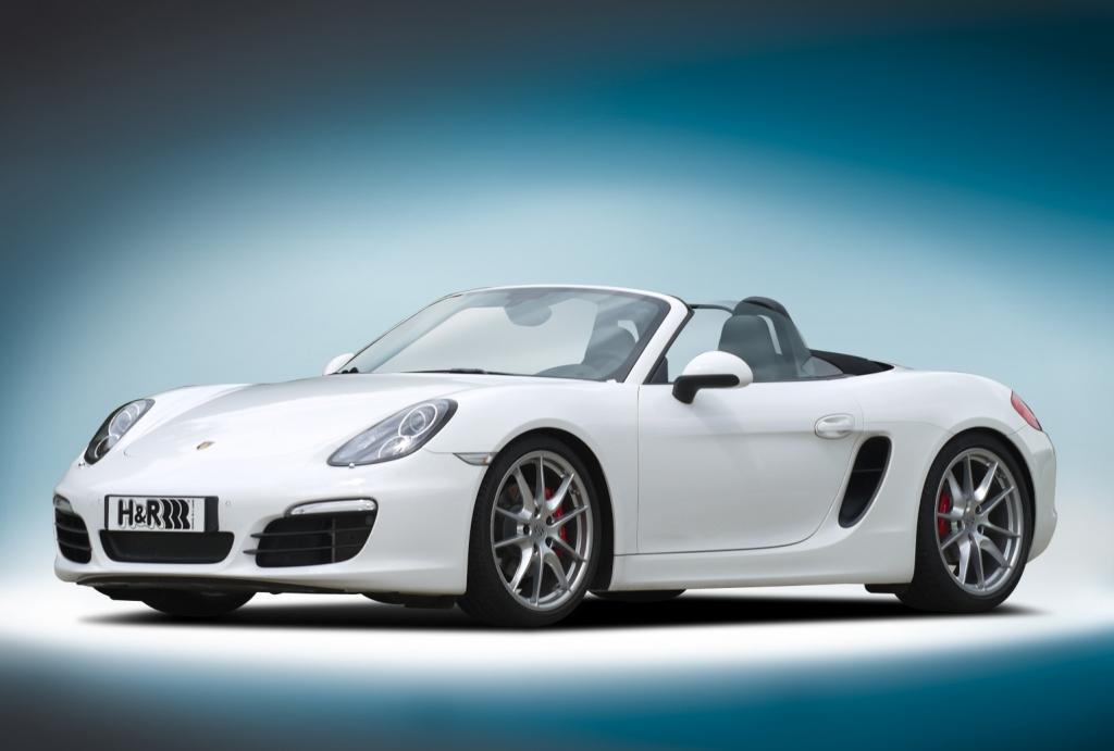 H&R liefert Fahrwerke für Audi Q3, Hyundai i40, Mercedes C-Klasse, Peugeot 208 und Porsche Boxster