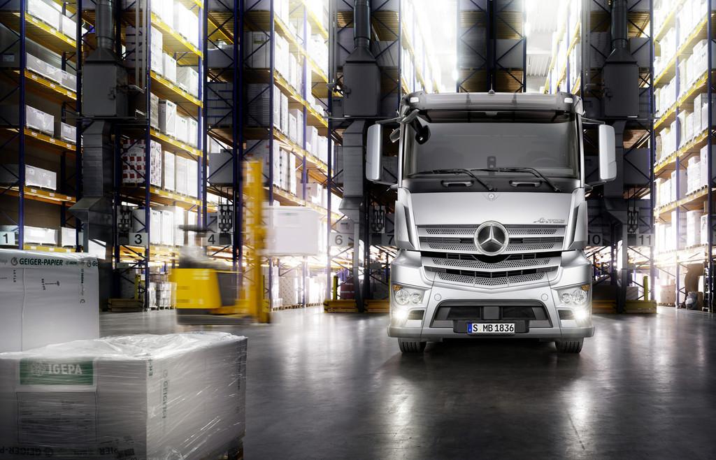 IAA Nutzfahrzeuge: Mercedes-Benz Antos feiert Publikumspremiere