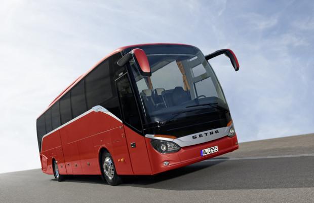 IAA Nutzfahrzeuge: Setra Comfort Class 500 bietet neuartige Lösungen