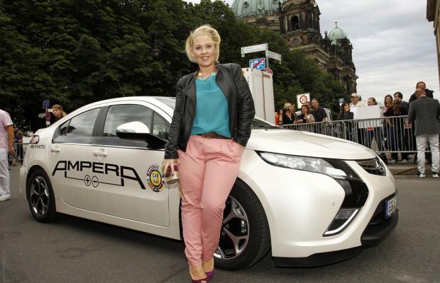 Im Opel Ampera elektrisch zum ZDF-Sommertreff