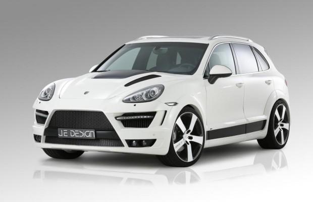 JE Design Porsche Cayenne - Breiter – tiefer - stärker