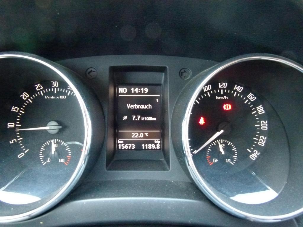 Kraftstoffverbrauch am Ende des Offroadtages