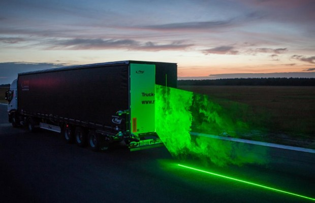 Lkw-Aerodynamik - Mit dem Laser zum Sparen
