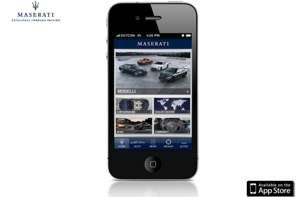 Maserati bringt App