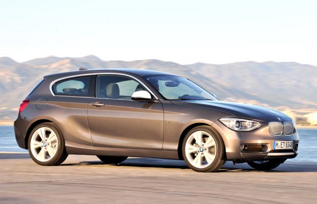 Mehr Platz hinten, im Kofferraum: BMW hat bei 1er auch Dreitürer neu aufgelegt