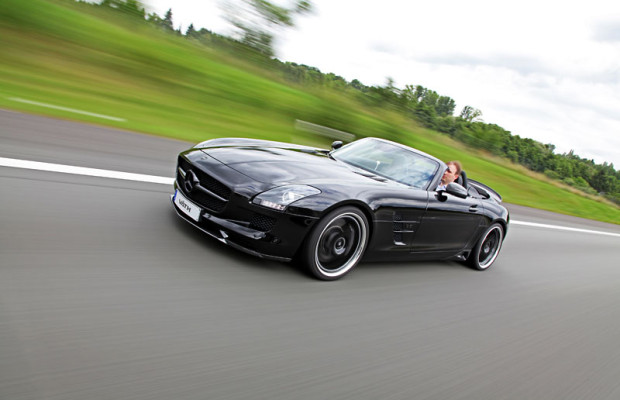 Mercedes Benz SLS Roadster mit Kompressor