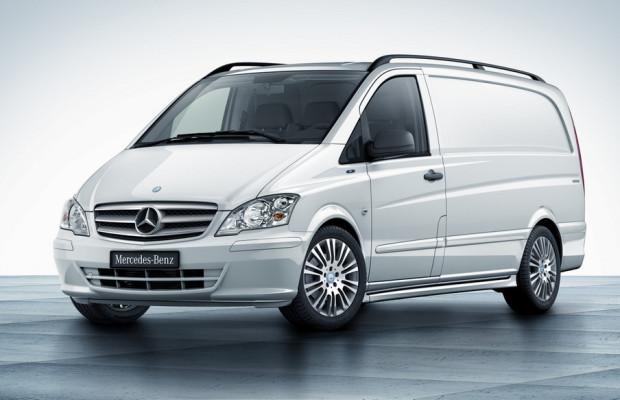 Mercedes-Benz bringt Vito Sondermodell Effect