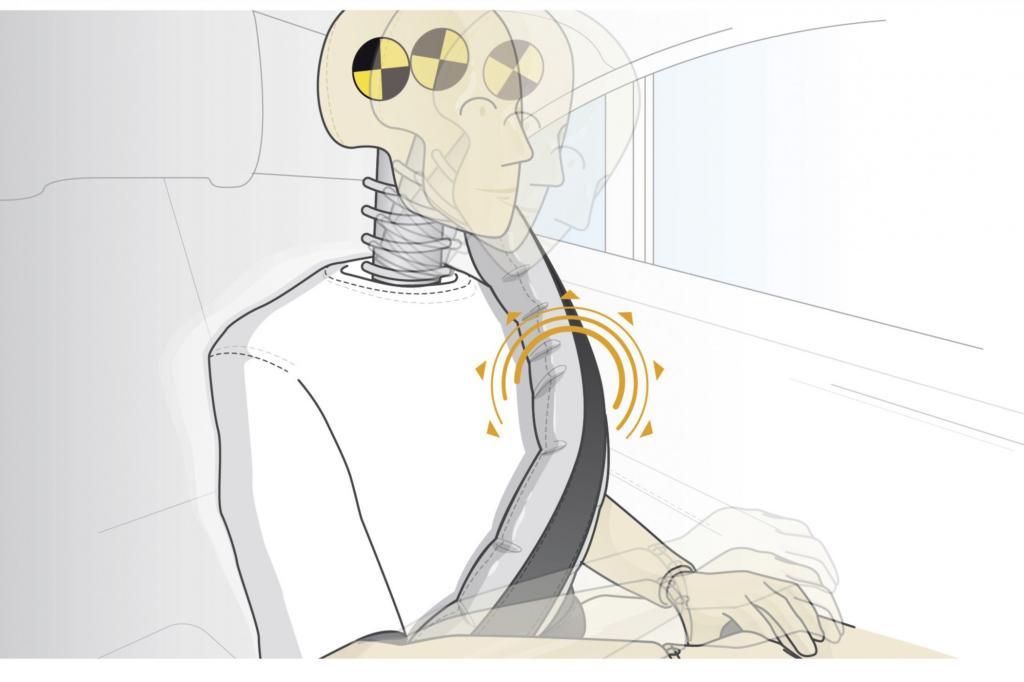 Mercedes bringt den Gurtairbag - Airbag numero X