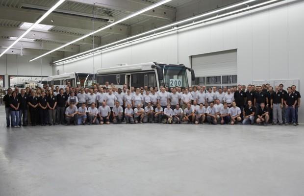 Morelo stellt 200stes Luxusreisemobil fertig