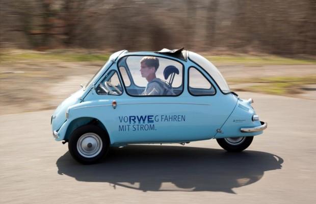Mutation: Heinkel Kabinenroller als E-Mobil