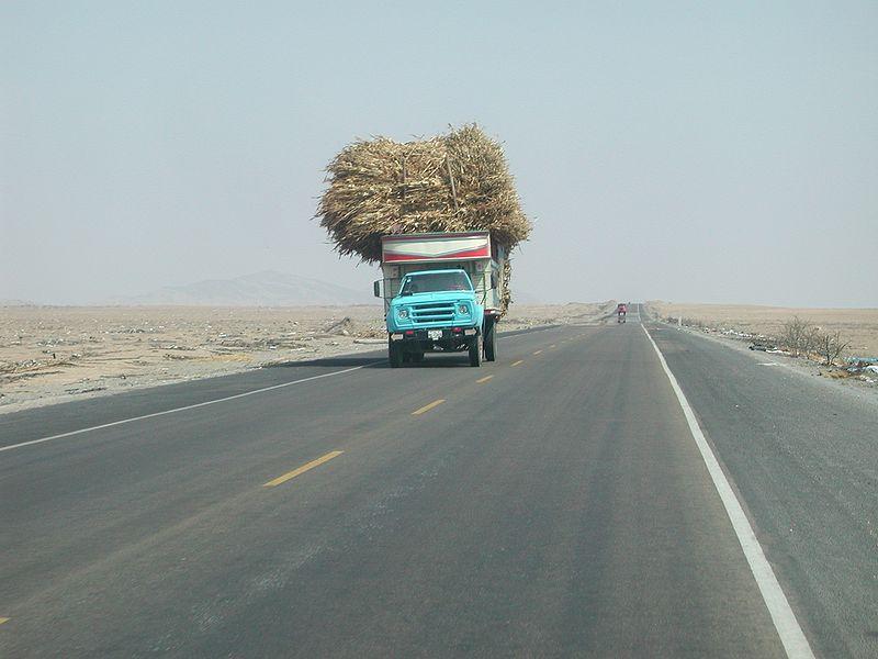 Nördliches Peru in der Nähe von Pacasmayo - Bild: Wikipedia