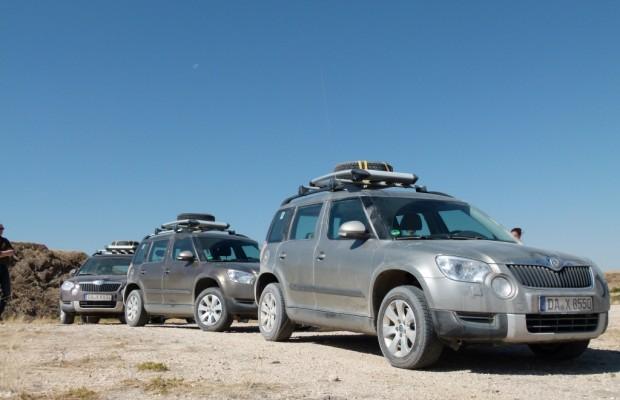 Namibia-Trail im Skoda Yeti: Premium-Pannen gibt es doch!