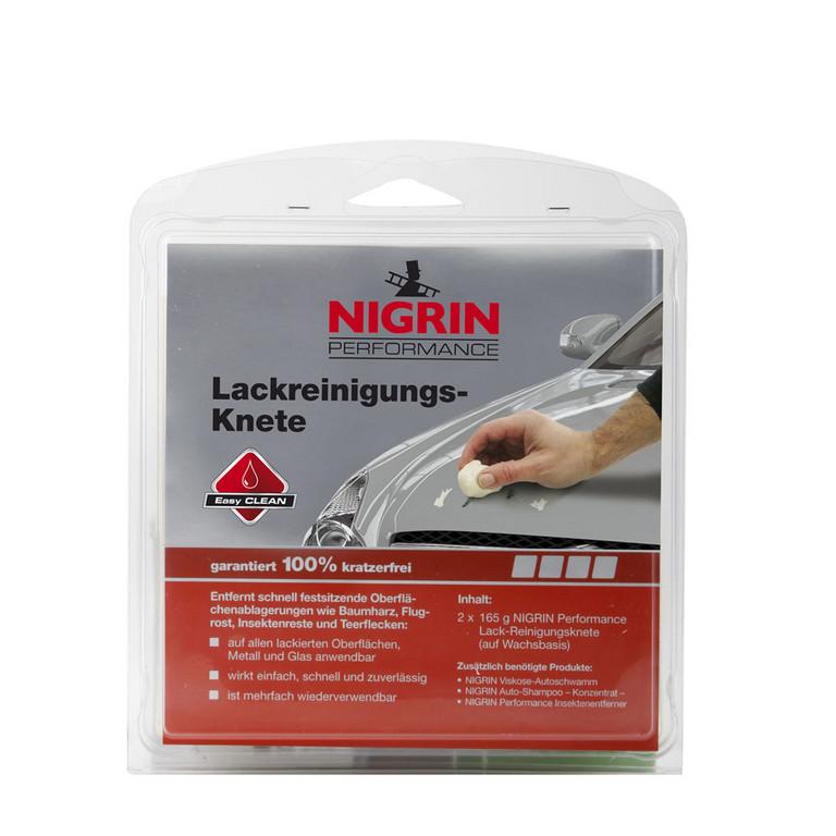 Nigrin bringt Insektenentferner und Lackreinigungs-Knete
