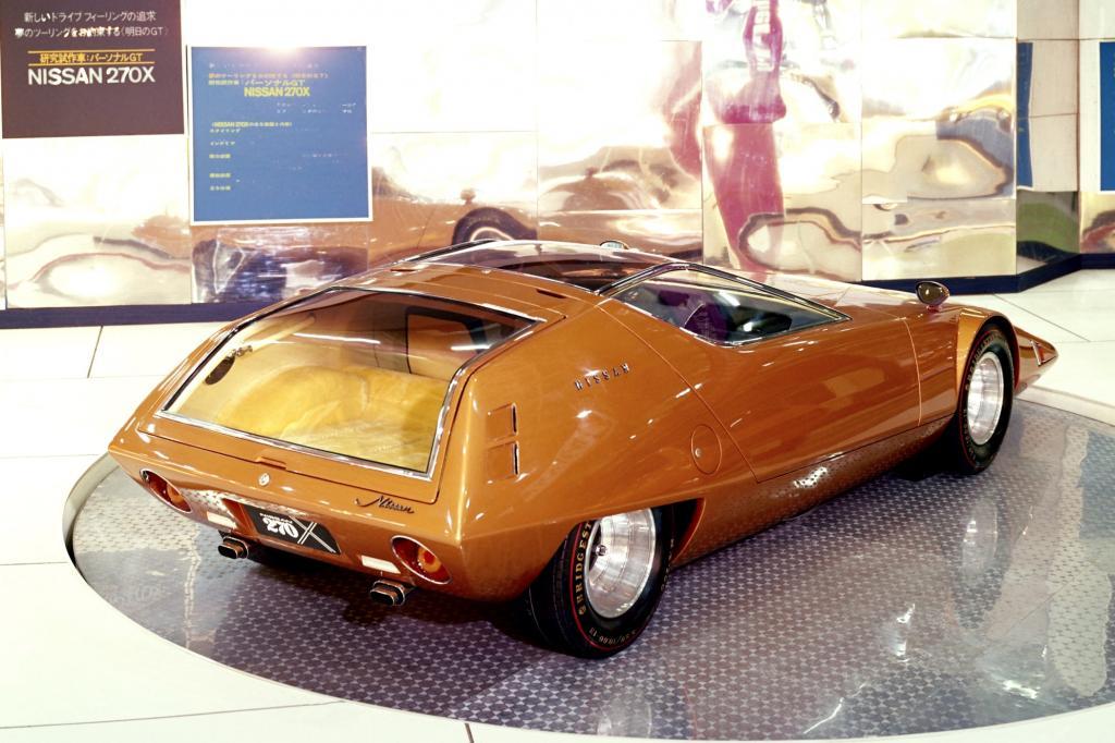Nissan 270X Concept auf Cherry Basis von 1970