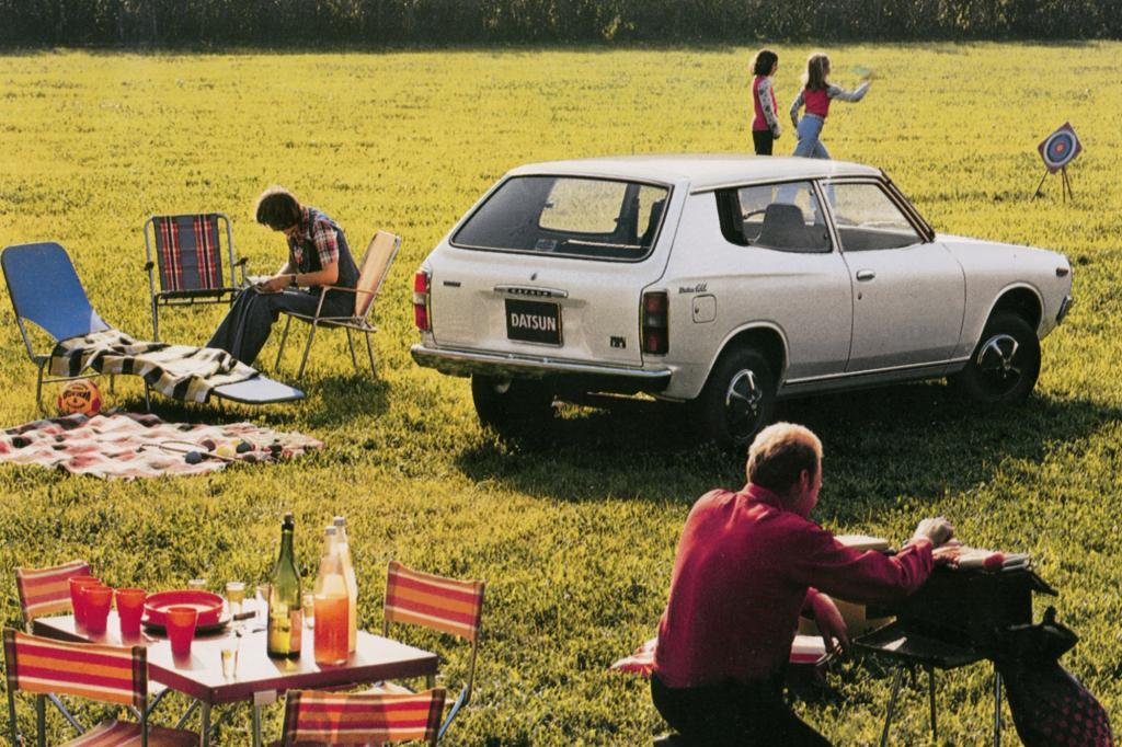 Nissan Datsun Cherry FII Combi ab 1976