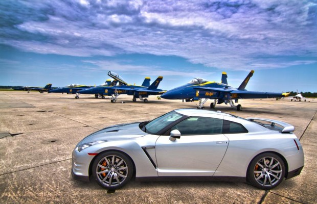Nissan Design-Team: Inspiration bei den Blue Angels
