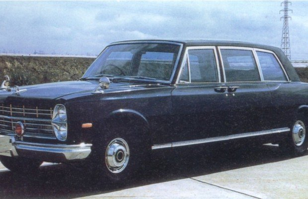 Nissan Prince Royal: In kaiserlichen Diensten