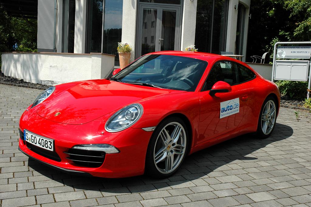 Porsche 911, hier als Carrera S Coupé mit 294/400 Kw/PS. Fotos: Koch