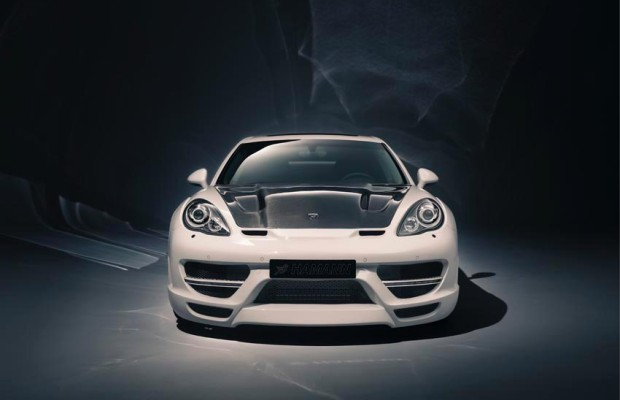 Porsche Panamera kräftig aufgeblasen