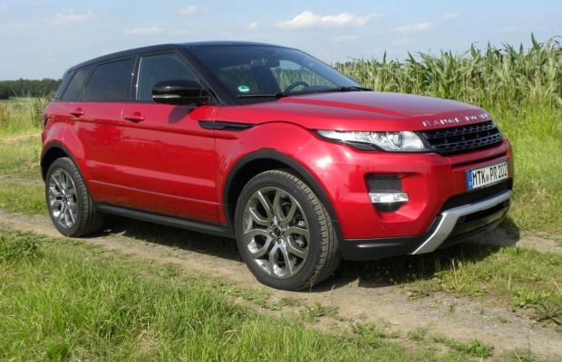 Range Rover Evoque bei APEAL-Studie auf Anhieb auf Platz 1