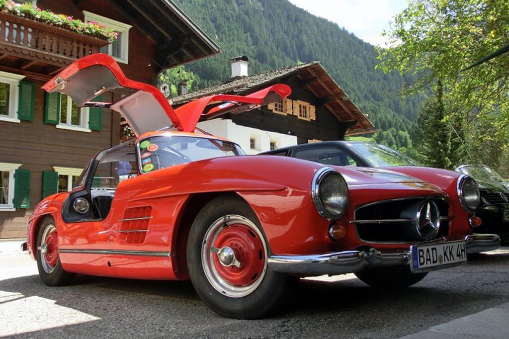 Selten und teuer: der Mercedes 300 SL Flügelturer