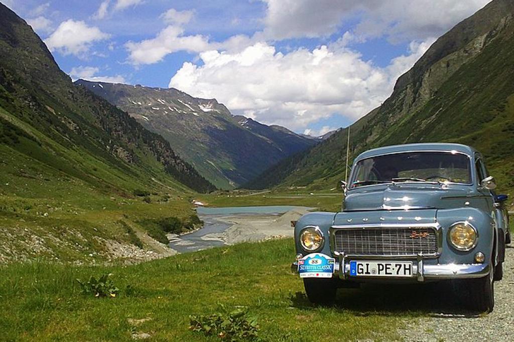 Silvretta Classic Rallye - Wenn der Buckel auf die Bergwelt trifft