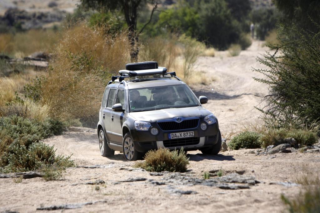 Skoda Yeti in Namibia: Stresstest in der afrikanischen Wildnis | © Michael Gebhardt, post@michaelgebhardt.com