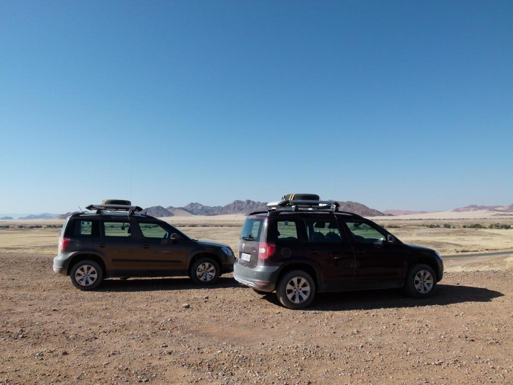 Skoda Yeti in Namibia: Stresstest in der afrikanischen Wildnis